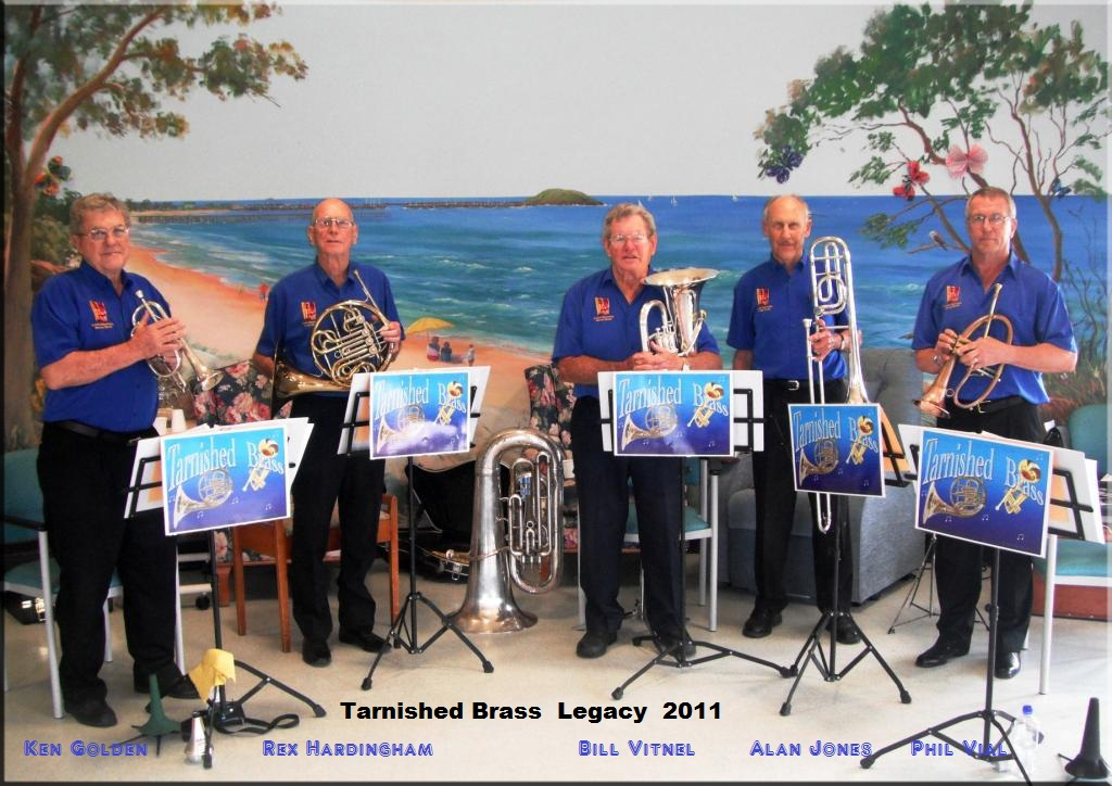 Ken Golden, Rex Hardingham, Bill Vitnel, Allan Jones, Phil Vial. Legacy 2011