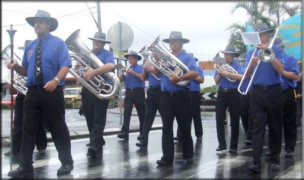 Coffs Regional Brass Band Anzac Day 2008